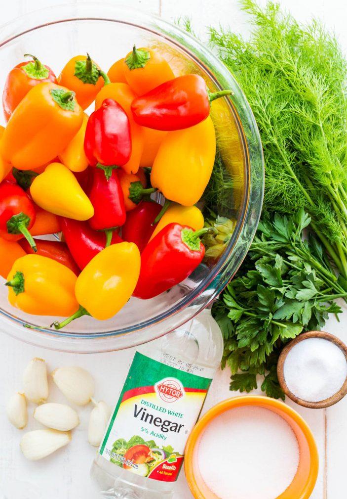 Фото рецепта - Болгарский маринованный перец - шаг 1