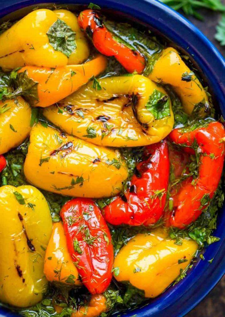Фото рецепта - Болгарский маринованный перец - шаг 5
