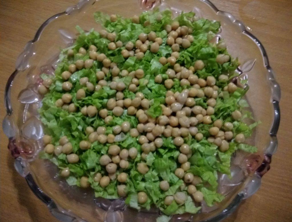 Фото рецепта - Салат из запечённой тыквы, с апельсинами и фетой - шаг 3