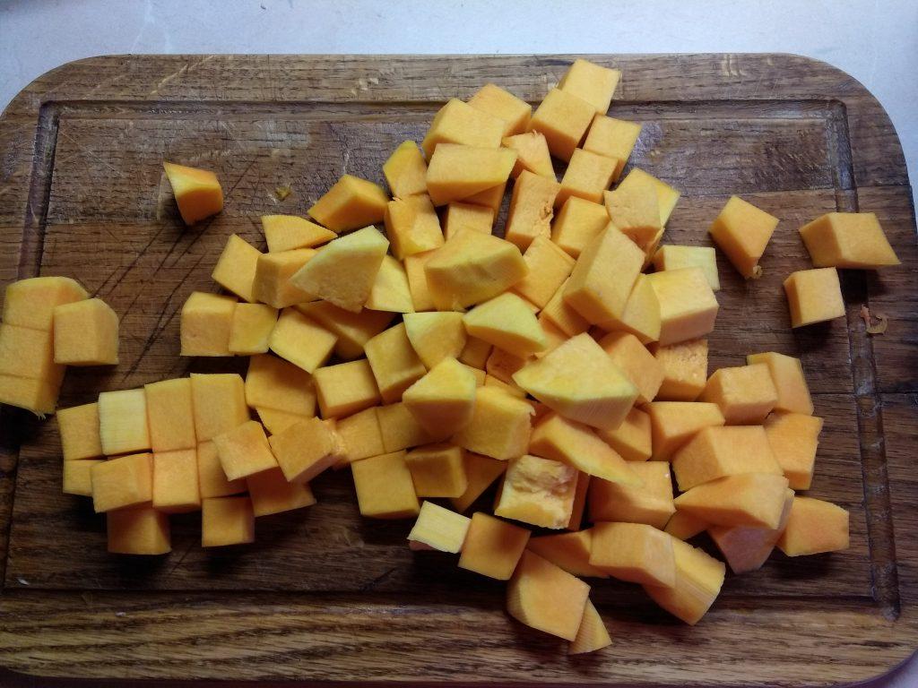 Фото рецепта - Овощное рагу из тыквы и шампиньонов - шаг 3