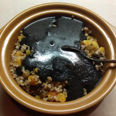 Фото рецепта - Кутья традиционная с сухофруктами - шаг 6