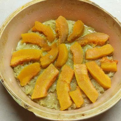 Фото рецепта - Фриттата с тыквой под сырной корочкой - шаг 2