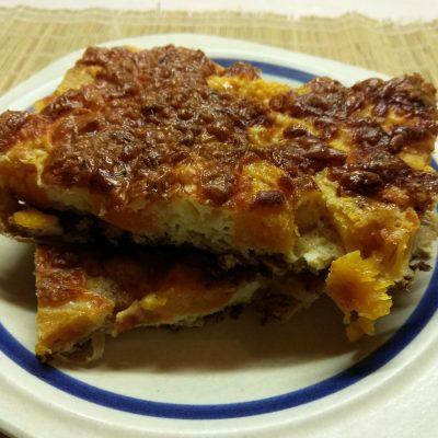 Фриттата с тыквой под сырной корочкой - рецепт с фото