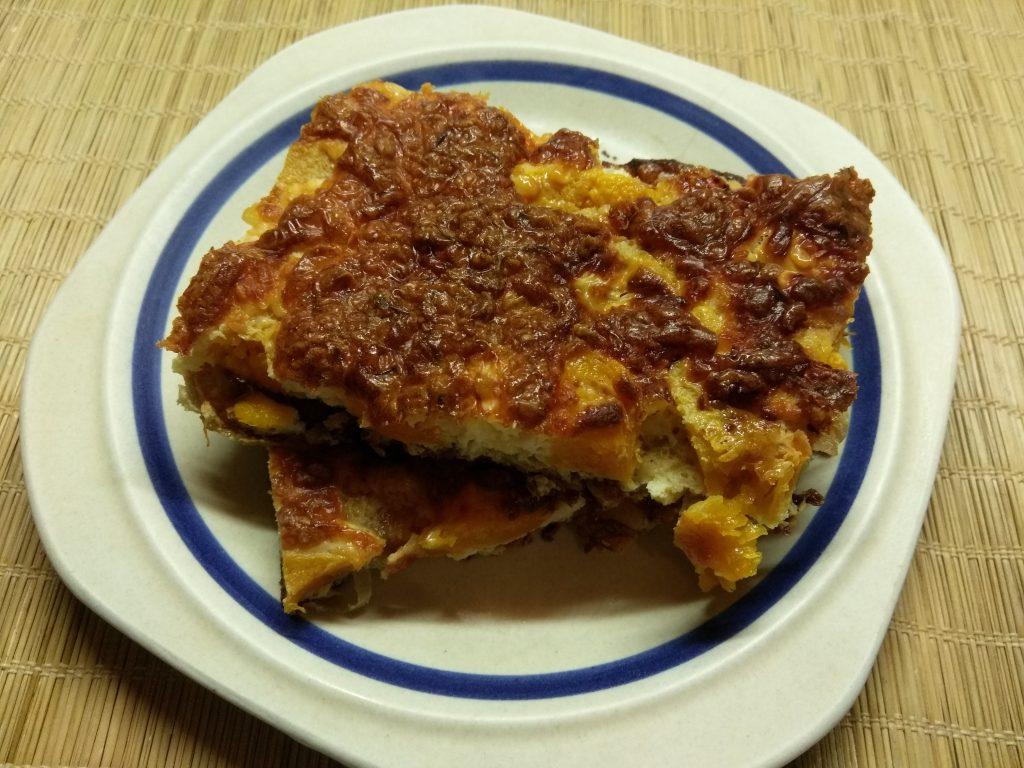 Фото рецепта - Фриттата с тыквой под сырной корочкой - шаг 7