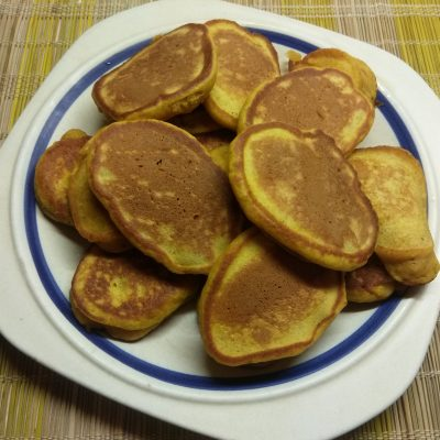 Тыквенные пряные оладьи - рецепт с фото