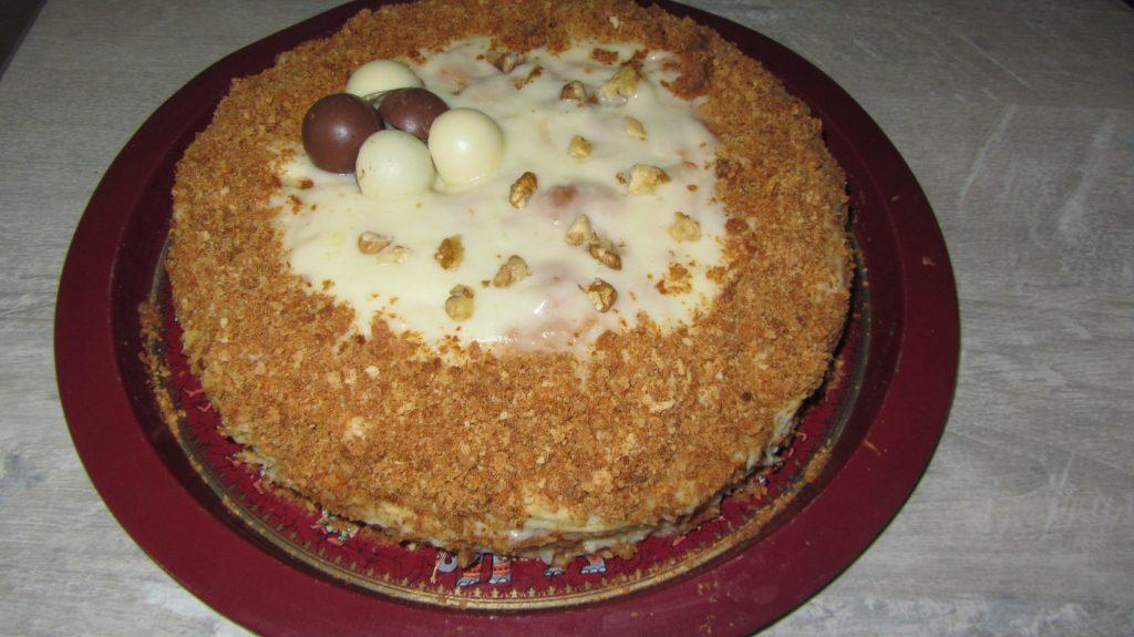"""Фото рецепта - Слоеный торт """"Наполеон"""" - шаг 9"""