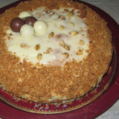 """Слоеный торт """"Наполеон"""" - рецепт с фото"""