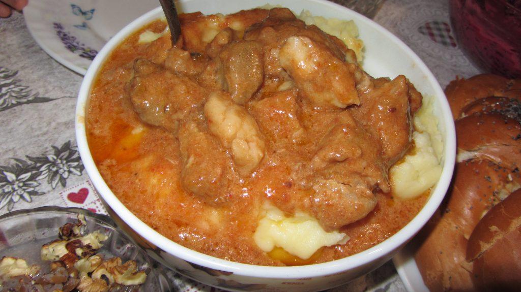 Фото рецепта - Подлива из мяса свинины - шаг 6