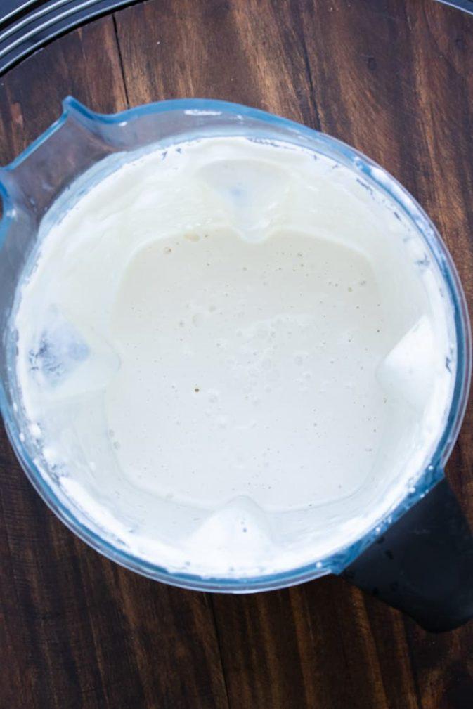 Фото рецепта - Постная домашняя сметана на орехах - шаг 1