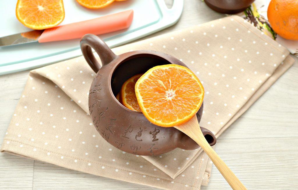 Фото рецепта - Мандариновый напиток с гвоздикой и корицей - шаг 1