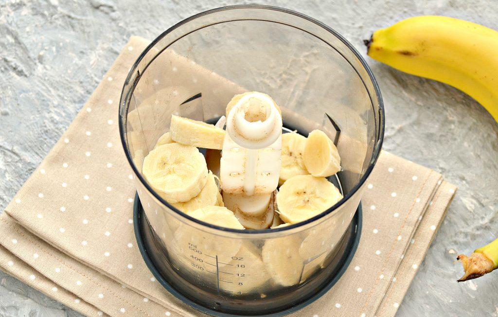 Фото рецепта - Охлажденный банановый латте - шаг 2