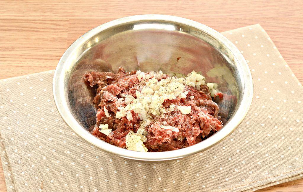 Фото рецепта - Ленивые манты с мясным фаршем - шаг 2