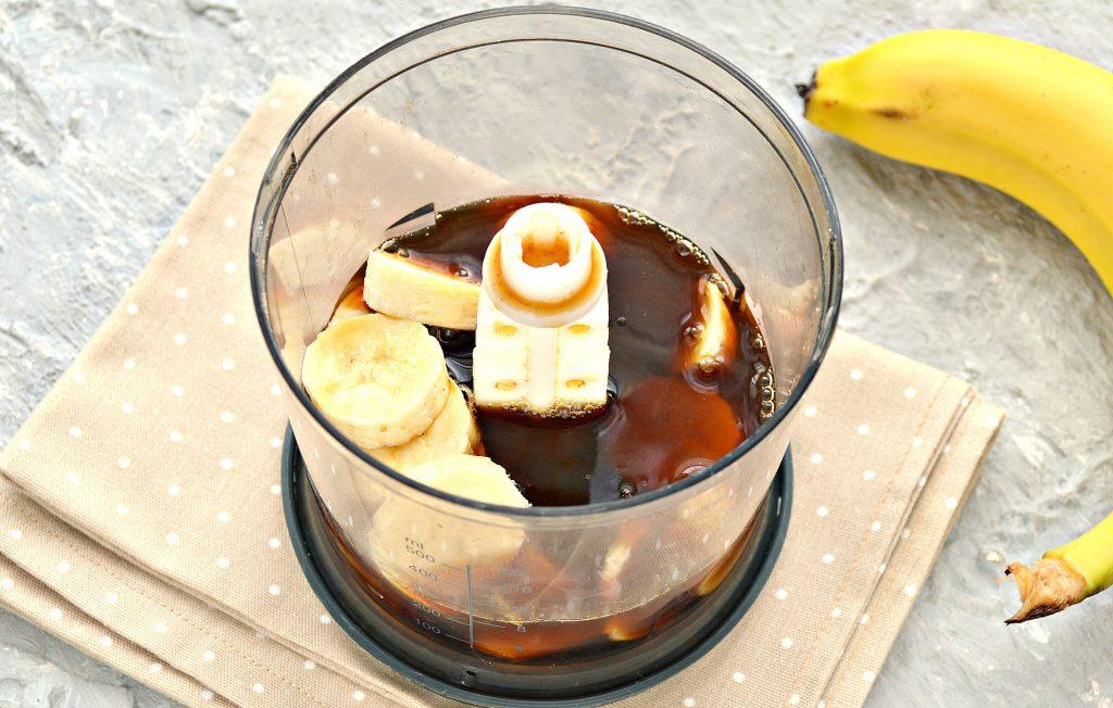 Фото рецепта - Охлажденный банановый латте - шаг 3