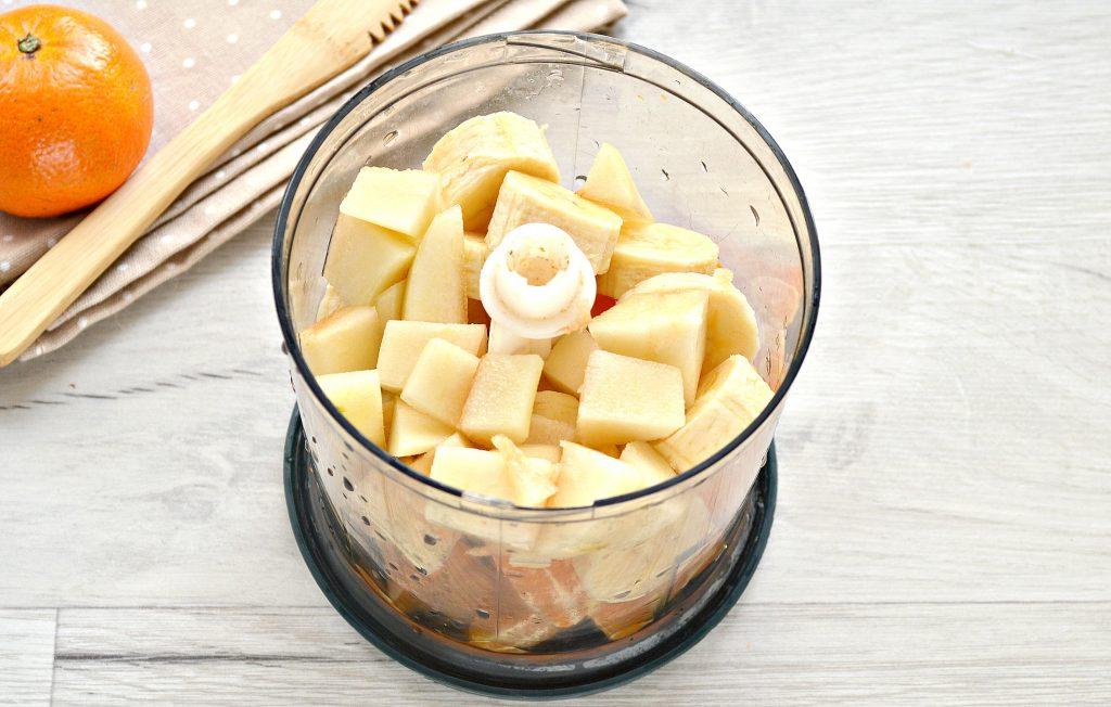 Фото рецепта - Мандариновый смузи с бананом и грушей - шаг 4