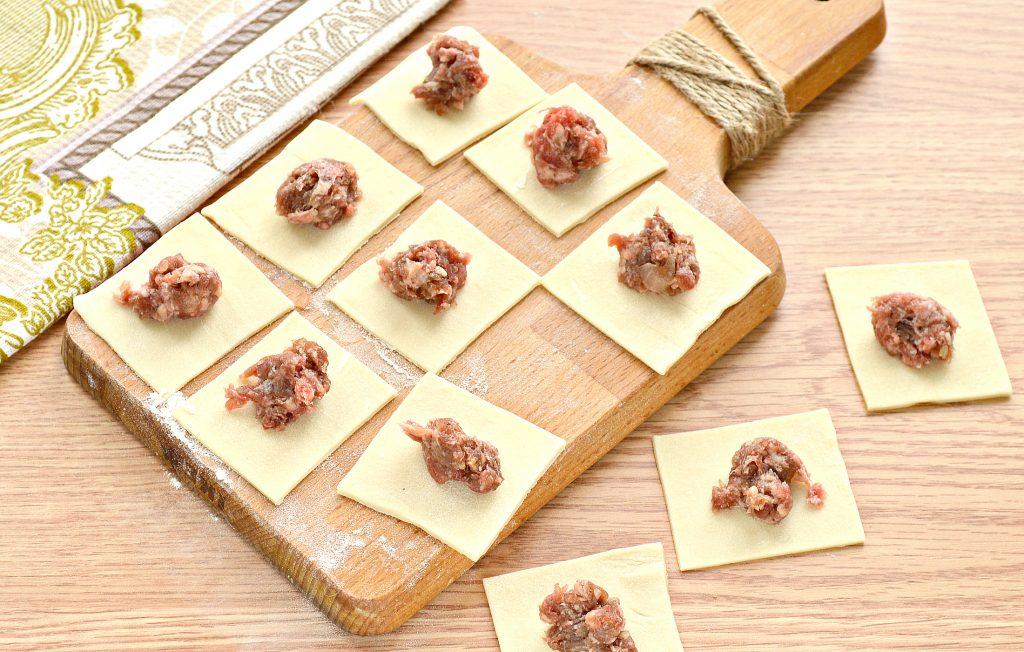 Фото рецепта - Пельмени по-башкирски с говяжьим фаршем - шаг 5
