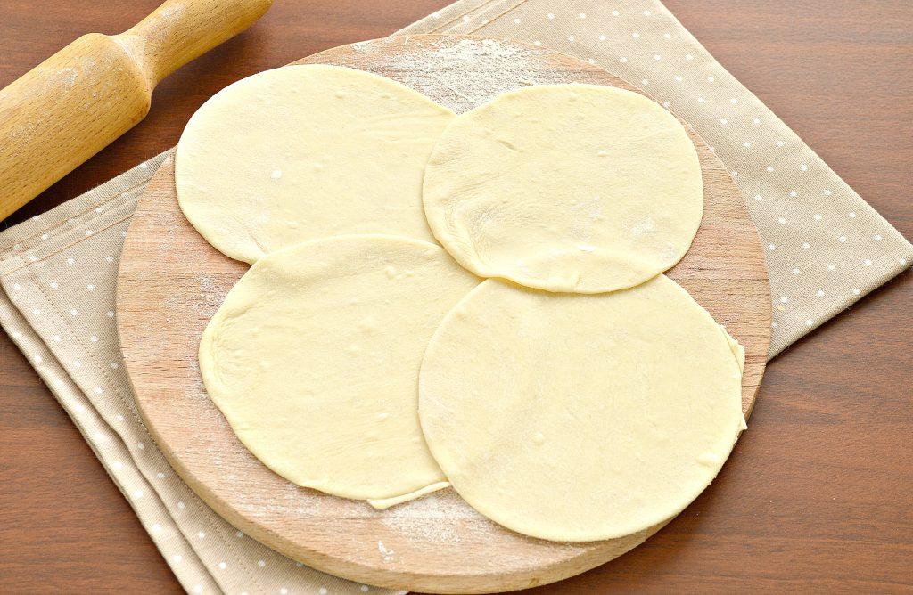Фото рецепта - Постные манты с картошкой и кабачком - шаг 5