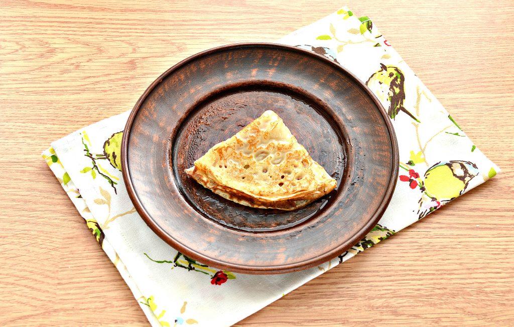 Фото рецепта - Налистники с сыром (блины на молоке и воде) - шаг 6