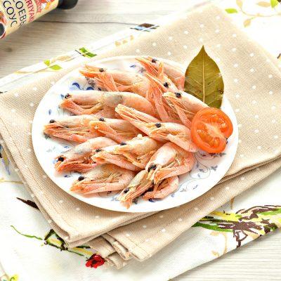 Креветки вареные - рецепт с фото
