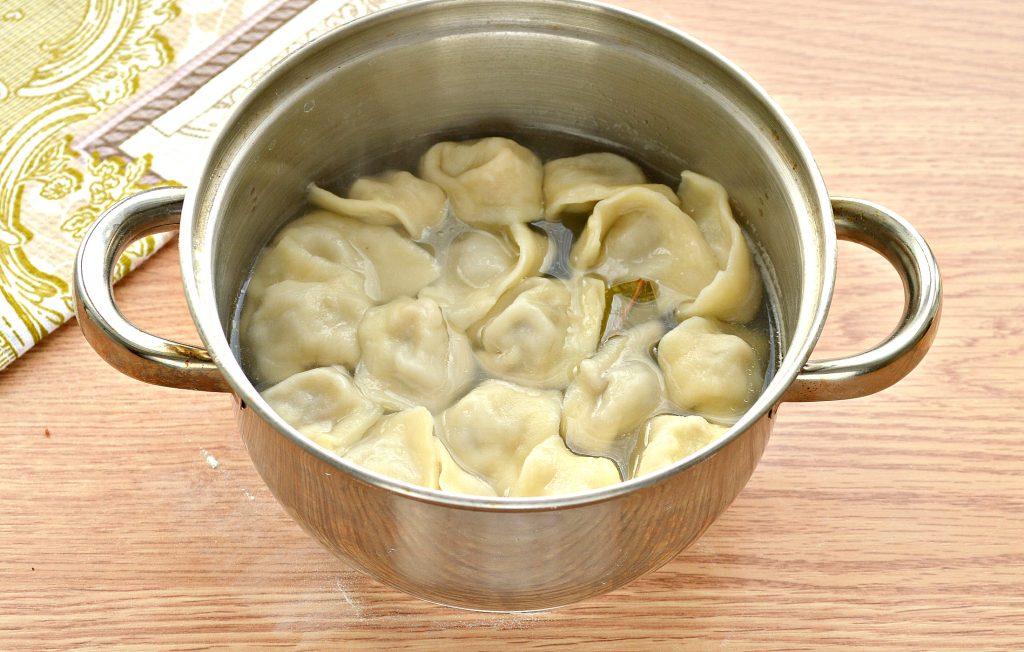 Фото рецепта - Пельмени по-башкирски с говяжьим фаршем - шаг 8