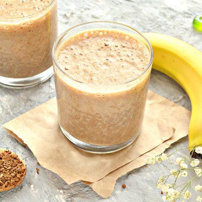 Охлажденный банановый латте - рецепт с фото