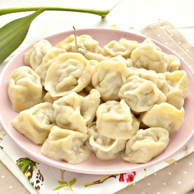 Пельмени с телятиной - рецепт с фото