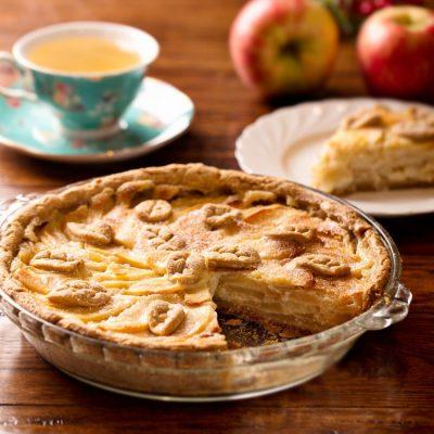 Цветаевский яблочный пирог - рецепт с фото