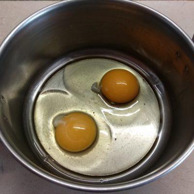 Фото рецепта - Быстрый пирог на кефире и манке за 10 минут - шаг 1