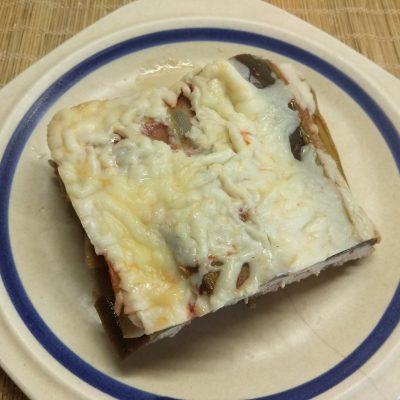 Запеканка с кабачками, баклажанами и фаршем из индейки - рецепт с фото