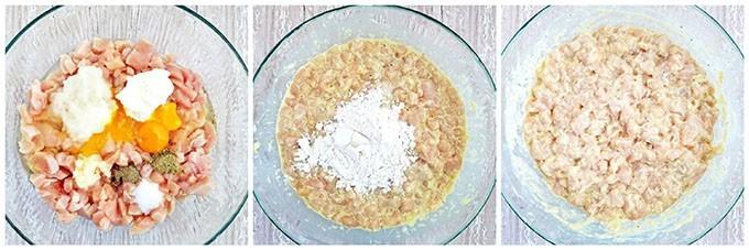 Фото рецепта - Куриные рубленные котлеты на сковороде - шаг 2