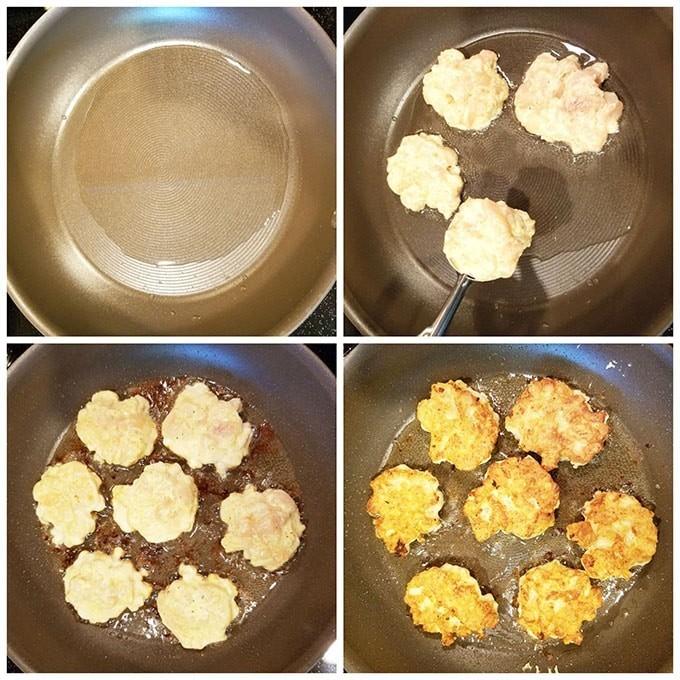 Фото рецепта - Куриные рубленные котлеты на сковороде - шаг 3