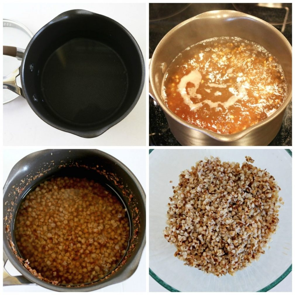 Фото рецепта - Фрикадельки из гречки и говядины, запеченные в овощном соусе - шаг 3