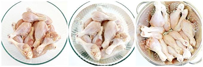 Фото рецепта - Запеченные куриные ножки в панировке - шаг 2