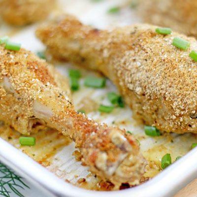 Фото рецепта - Запеченные куриные ножки в панировке - шаг 7
