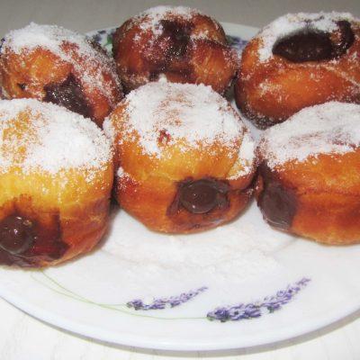 Дрожжевые пончики берлинеры - рецепт с фото