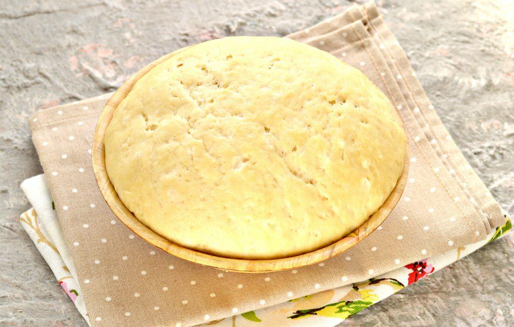Фото рецепта - Песочно-дрожжевое тесто - шаг 10