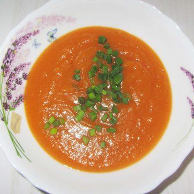 Постный суп-пюре из тыквы, моркови и картофеля - рецепт с фото