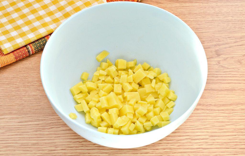Фото рецепта - Вак-беляши в духовке с картошкой и фаршем - шаг 2