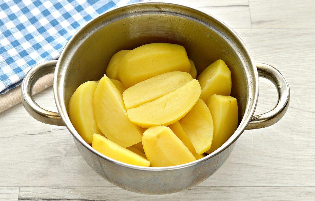 Фото рецепта - Картофельное пюре с сыром - шаг 3
