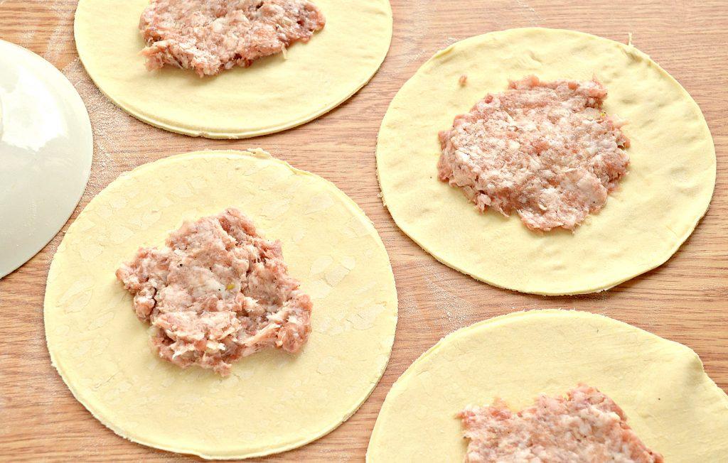Фото рецепта - Самса с мясным фаршем - шаг 4