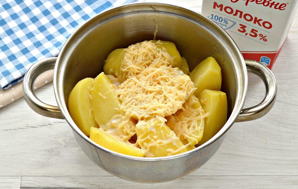 Фото рецепта - Картофельное пюре с сыром - шаг 5