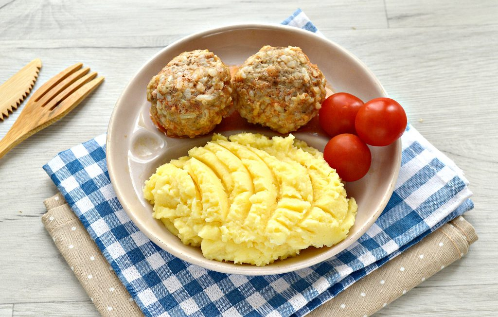 Фото рецепта - Картофельное пюре с сыром - шаг 7