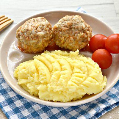 Картофельное пюре с сыром - рецепт с фото