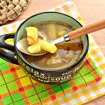 Гороховый суп с говядиной - рецепт с фото