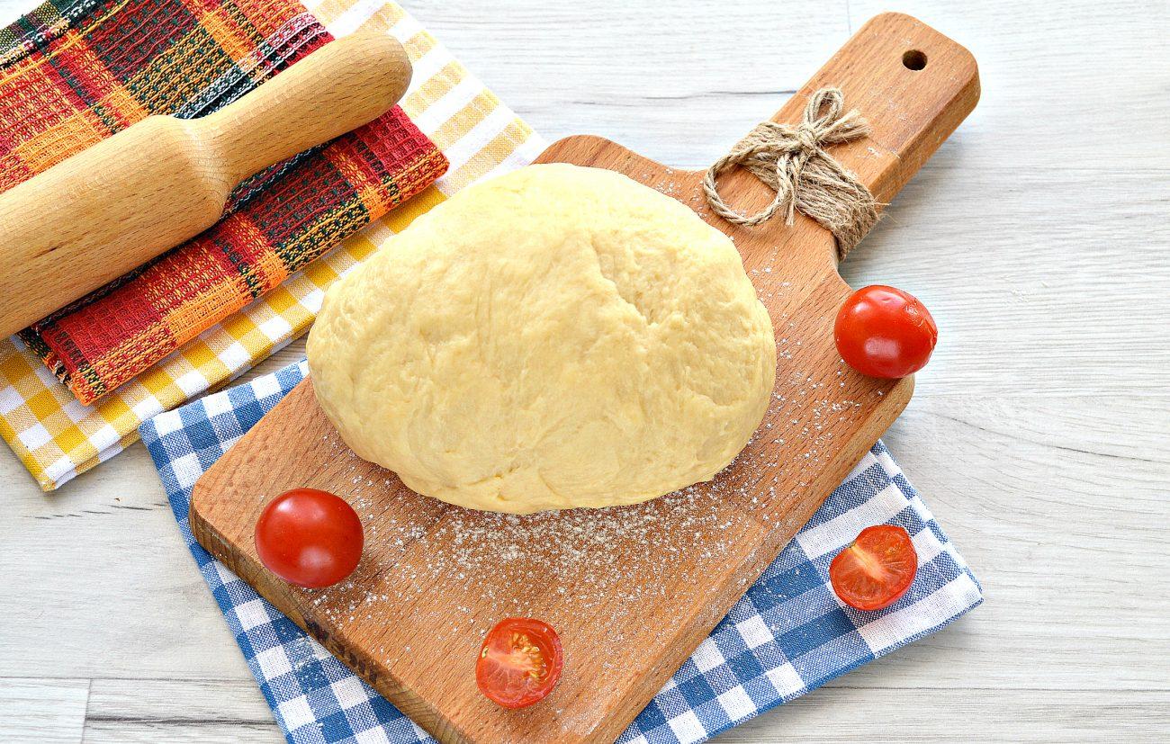 Тесто для курника на маргарине и молоке