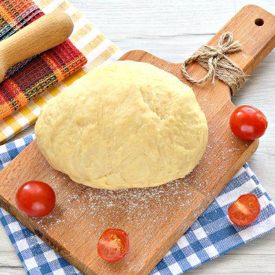 Тесто для курника на маргарине и молоке - рецепт с фото