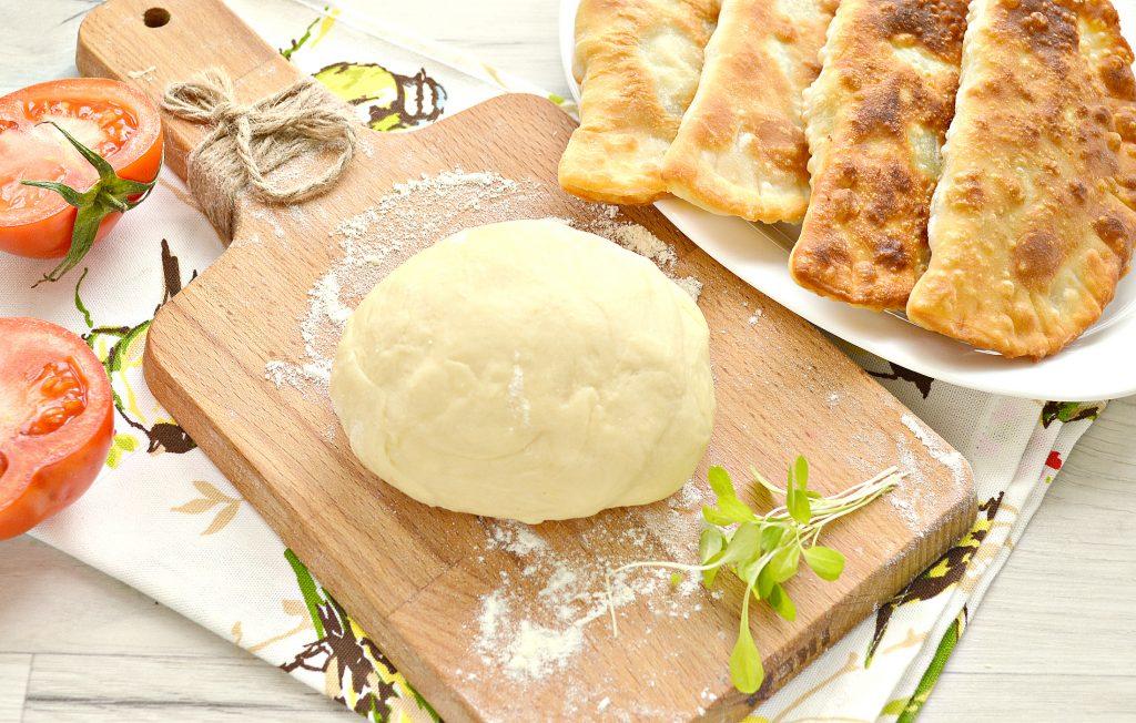 Фото рецепта - Тесто для чебуреков на сметане - шаг 9