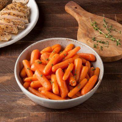Глазированная морковь - рецепт с фото