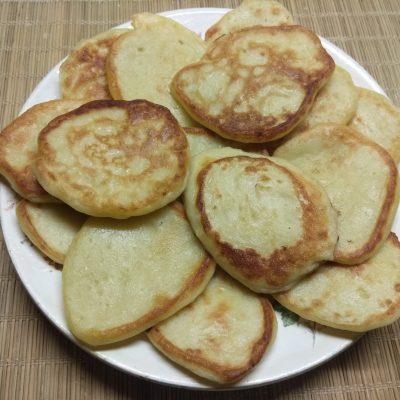 Картофельные оладьи на молоке - рецепт с фото