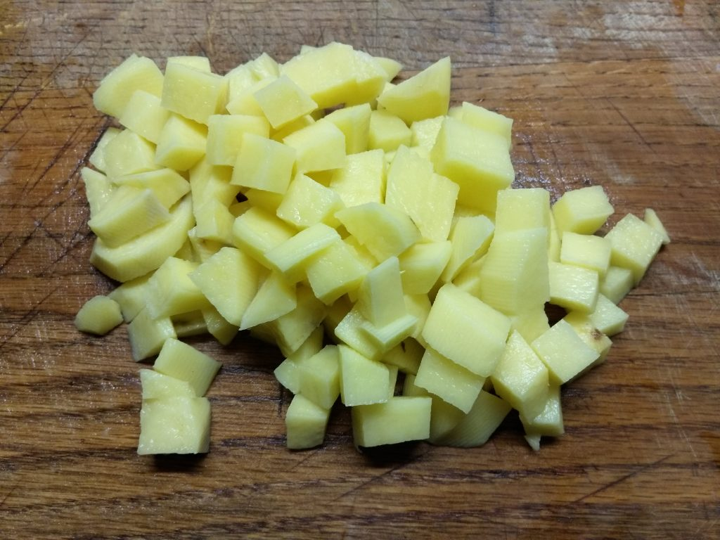 Фото рецепта - Постный суп из брюссельской капусты и риса - шаг 1