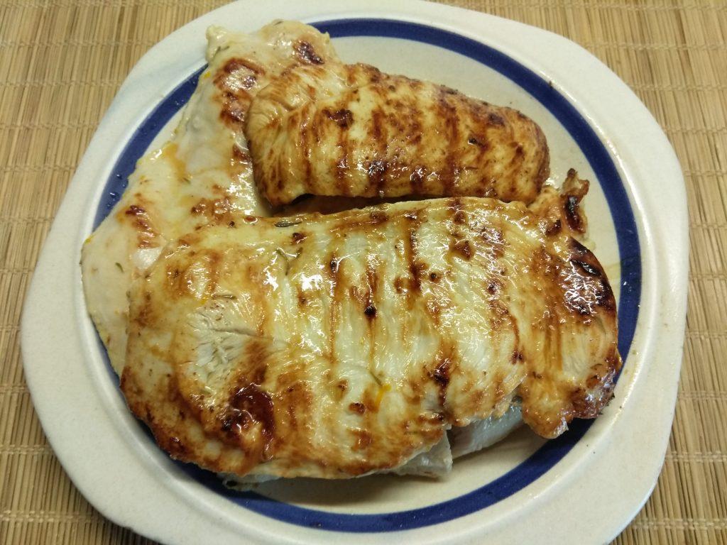 Фото рецепта - Куриные отбивные в апельсиновом маринаде - шаг 7